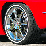 Customized Corvette Wheel #5