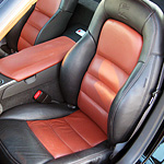 Customized Corvette Interior #4