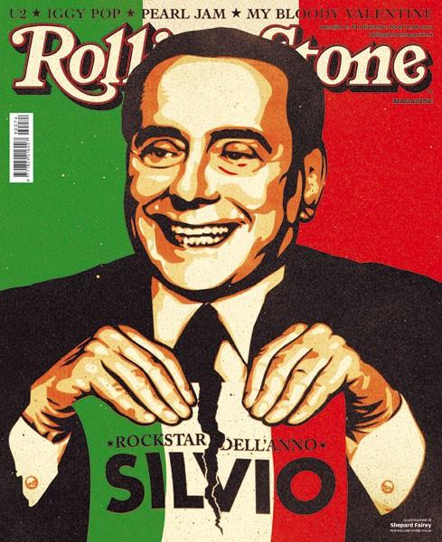 Portada de la revista Rolling Stone Italia, Diciembre 2009