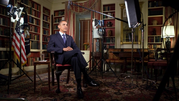 The President Records the Weekly Address