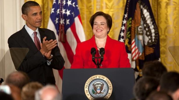 The President honors Elena Kagan