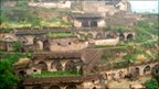 Hillside caves in Shanxi province