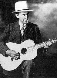 Jimmie Rodgers in one of his publicity poses
