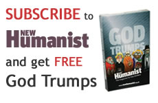 Free God Trumps when you subscribe to New Humanist
