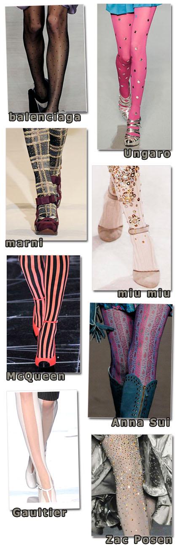 meias decoradas