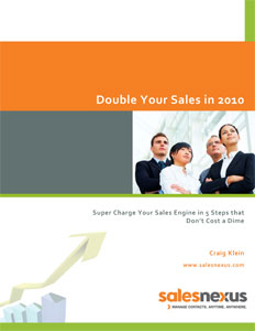 Double Your Sales Cover