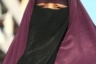 French woman Kenza Drider wears her niqab. Photo / AP.