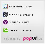 My Popularity (by popuri.us)