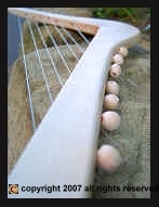 Enter the page for the Nylon string harp craft