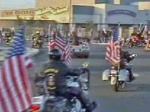 NorCal Student Gets Special Flag Escort to School