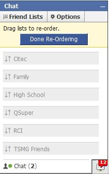 drag to reorder