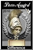 Doveaward graphic for 2009