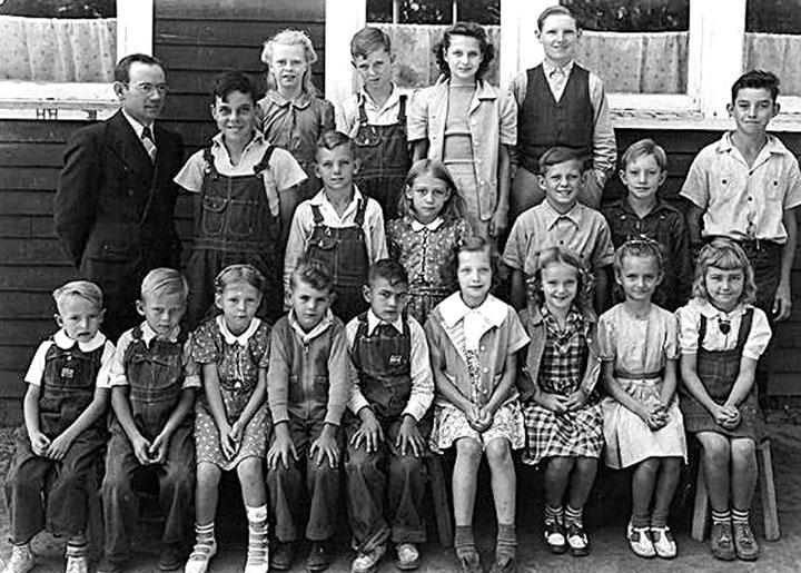 Birch School – about 1941