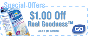 Special Offers: $1.00 Off Real Goodness