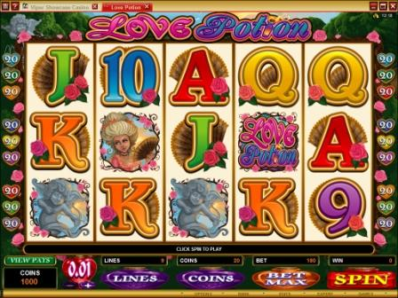 Love Potion video slot