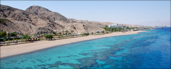 Eilat beach. Photo credit - Or Hiltch.