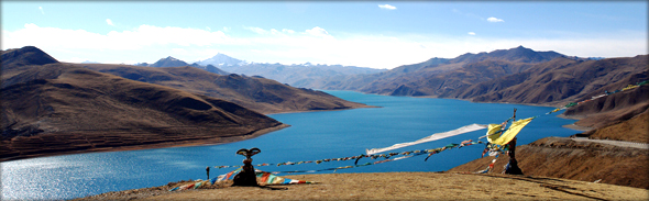 Yamdrok Lake. Photo credit - Jake Ji.