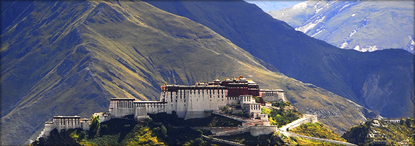 Potala Palace. Photo credit - reurinkjan.