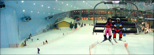 Ski Dubai, indoor ski resort. Photo credit - JonRawlinson.