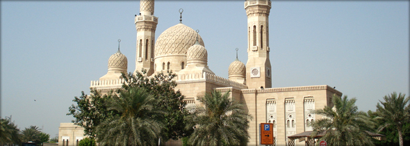 Jumeirah Mosque. Photo credit - Simon Halsey.