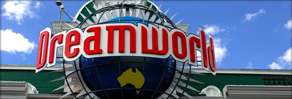Dreamworld, the Australian version of Disney World. Photo credit - tinrey.