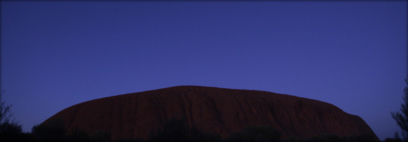 Sunset at Ayers Rock. Photo credit - subactive_photo.