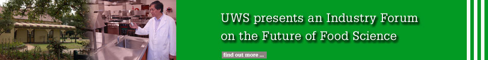 UWS presents and Industry Forum on the Future of Food Science