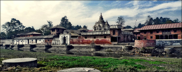 Pashupatinath Temple, one of the holiest temple of Lord Shiva. Photo credit - 3dom.