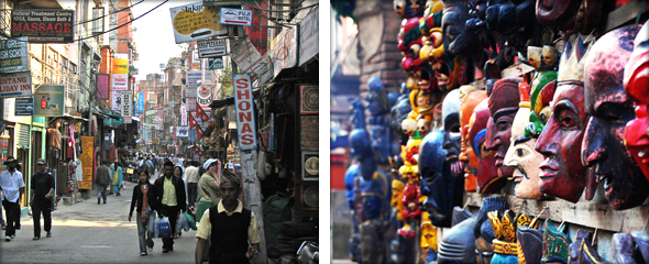Thamel District. Photo credit by - McKaySavage & s.o.m.o