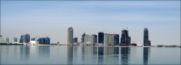 Qatar skyline. Photo credit - mlubinski.