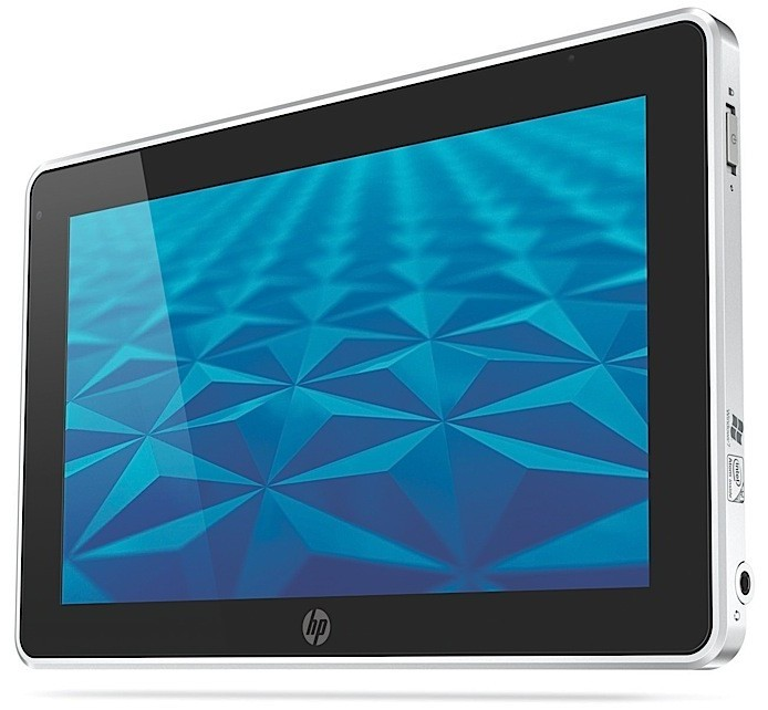 HP Slate 500 8.9-inch Windows Tablet front angle