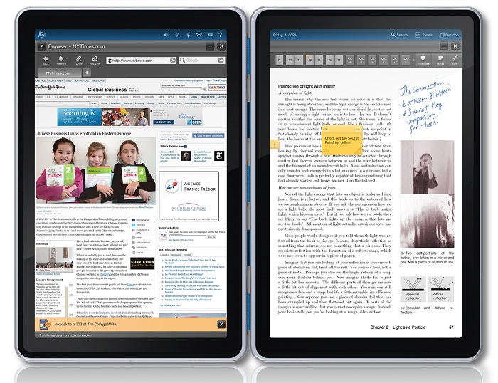 Kno Dual Screen Tablet