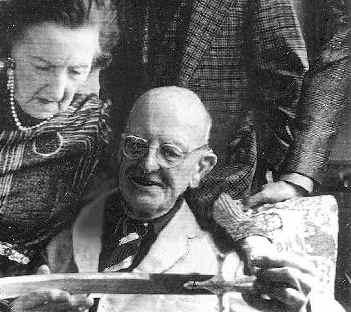 Wodehouse with his wife Ethel ... a world of erudite butlers, absent-minded earls and silly artistocrats.