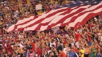 Crowd at US football match