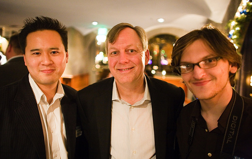 Jeremiah Owyang, (Podtech) Dave Roberson, (CEO of Hitachi Data Systems) Kristopher Tate (Zooomr)