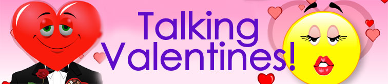 Talking Valentine ecards