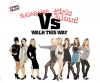 Sugababes Vs Girls Aloud - Walk This Way