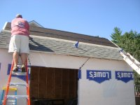 install roof jacks for safety