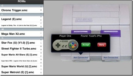 SNES iPad thumb1 Guide to Install SNES (HD) and ROMs for Jailbroken iPad