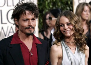 johnny depp and vanessa paradis 300x214 Top 10 celebrity couples
