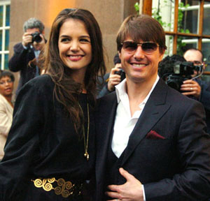 tom cruise and katie holmes Top 10 celebrity couples