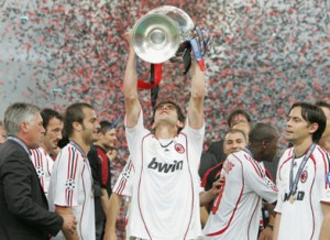 kaka with champion league trophy 300x218 The top 10 best football club in the world
