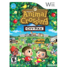 animal crossing Top 10 Wii games for children.