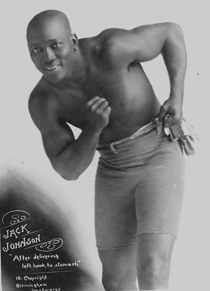 jack johnson1 McCain Seeks Justice For Deceased Boxer Jack Johnson (Photos)