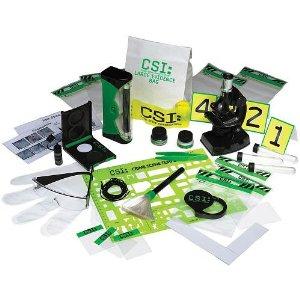 CSI Crime Scene Investigation Junior Investigator Field Kit