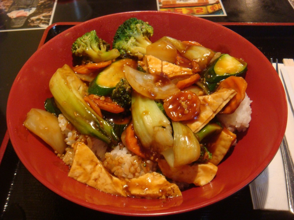 Rice Bowl with Tofu and Veggies