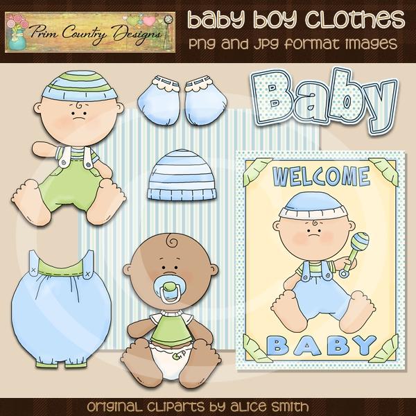 Baby Boy Clothes Clip Art-cliparts, graphics, images, clip art, baby shower, clothes