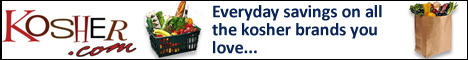 Kosher.com Everyday Savings on all the kosher brands you love...