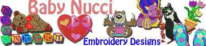 Baby Nucci Embroidery Designs