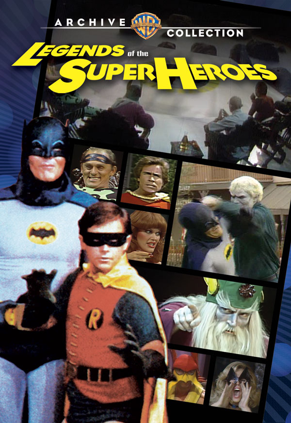 Legends of the Superheroes Box Cover
